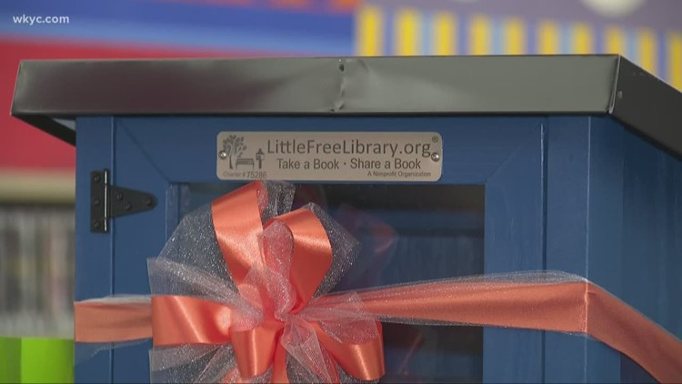 Six New Little Free Libraries Unable To Load Video