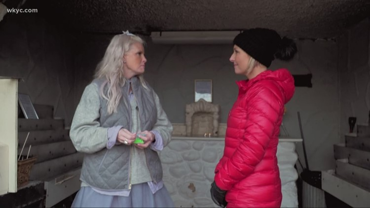 Monica Potter takes WKYC's Sara Shookman for a tour of her favorite neighborhood holiday spots