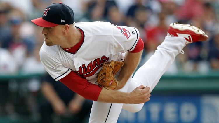 Jon Edwards Kansas City Royals-Cleveland Indians Baseball