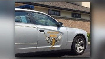 Ohio Highway Patrol cruiser struck by suspected drunk driver in Cleveland
