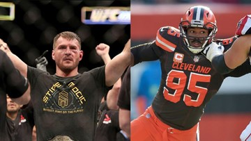 UFC champ Stipe Miocic rips NFL after Pittsburgh Steelers QB Mason Rudolph avoids suspension