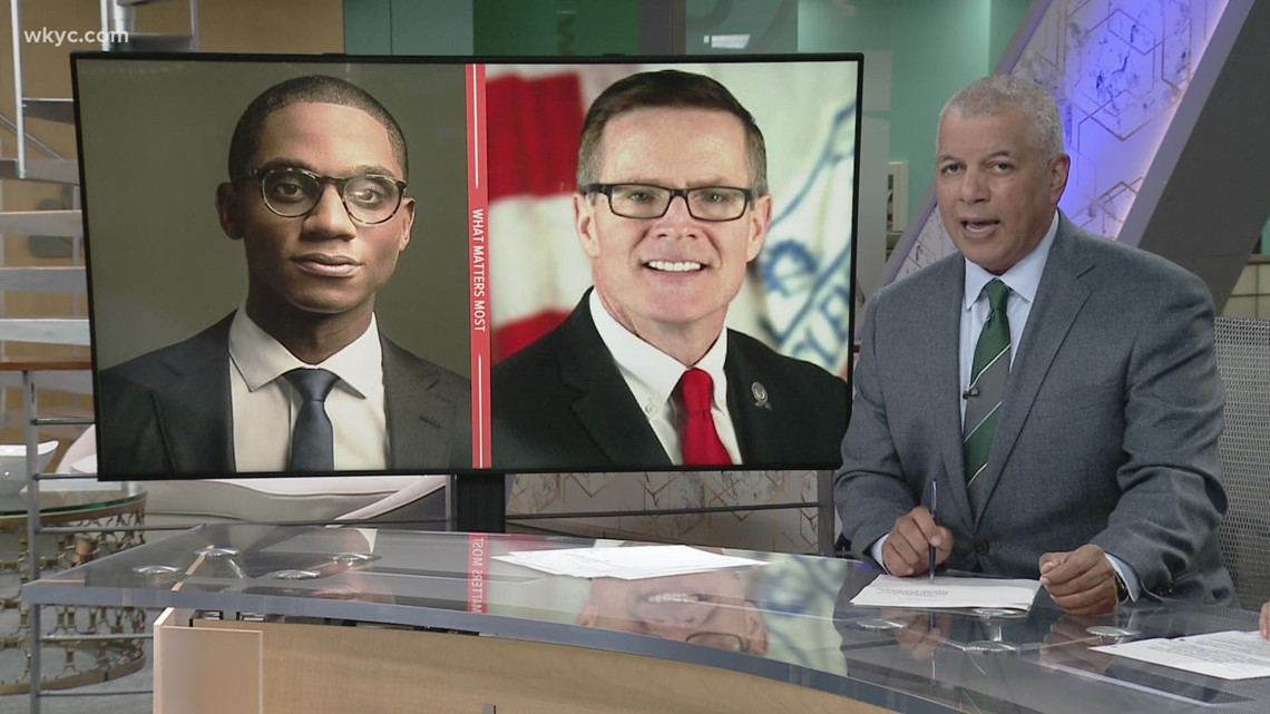 Justin Bibb and Kevin Kelley go head to head during debate moderated by 3News' Mark Naymik