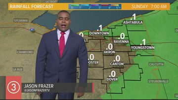 Midday Weather Forecast for Northeast Ohio for Saturday October 12