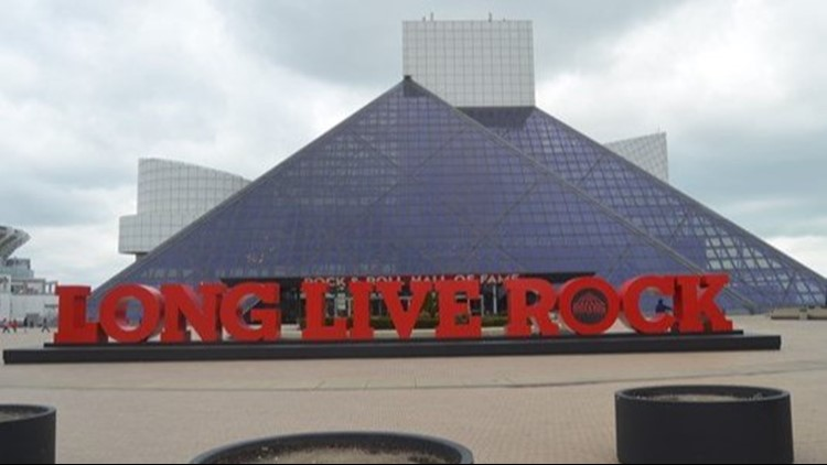 Inside Look: Betsy Kling tours the 'Vault' at Rock and Roll Hall of Fame