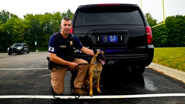 HARDWORKING CLEVELAND   A K-9 to 5 with Westlake Police