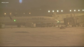 Several flights canceled, delayed at Cleveland Hopkins Airport due to severe weather