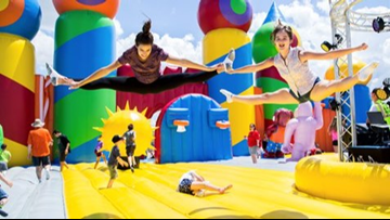 The 'World's Largest Bounce House' comes to Northeast Ohio