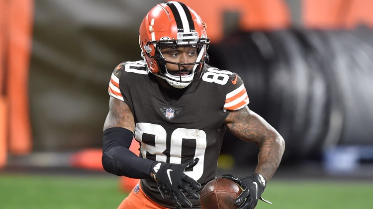 Cleveland Browns activate wide receiver Jarvis Landry for tonight's game versus Denver Broncos