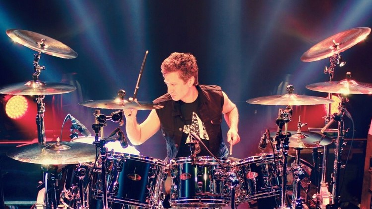 Michael Cartellone playing for Lynyrd Skynyrd