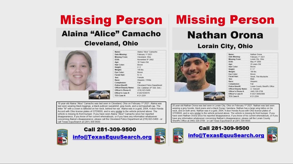 Search continues for couple missing in Lorain since February