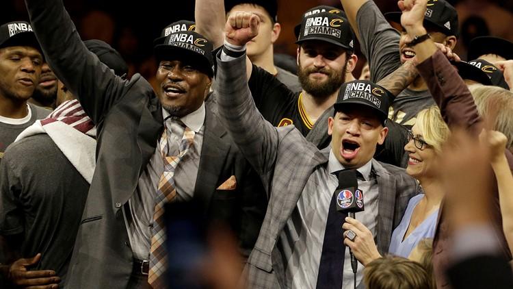 Tyronn Lue NBA Finals Cleveland Cavaliers-Golden State Warriors Basketball