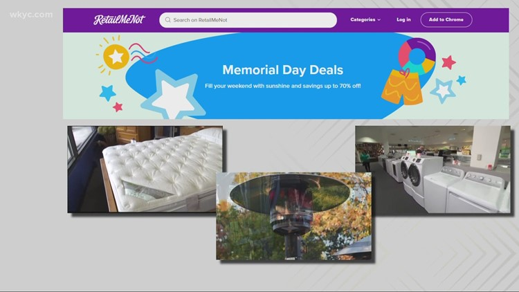 Best buys to look for during Memorial Day weekend