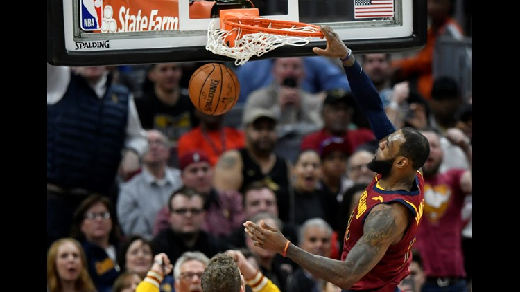 The Cleveland Cavaliers showed plenty of resilience and promise in their win over the Toronto Raptors at Quicken Loans Arena Wednesday night.