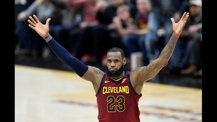 The Cleveland Cavaliers played two-way basketball in second half of their comeback win over the Toronto Raptors at Quicken Loans Arena Wednesday.