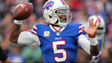 best website ac9cf 36eb2 Cleveland Browns announce jersey numbers for Tyrod Taylor ...