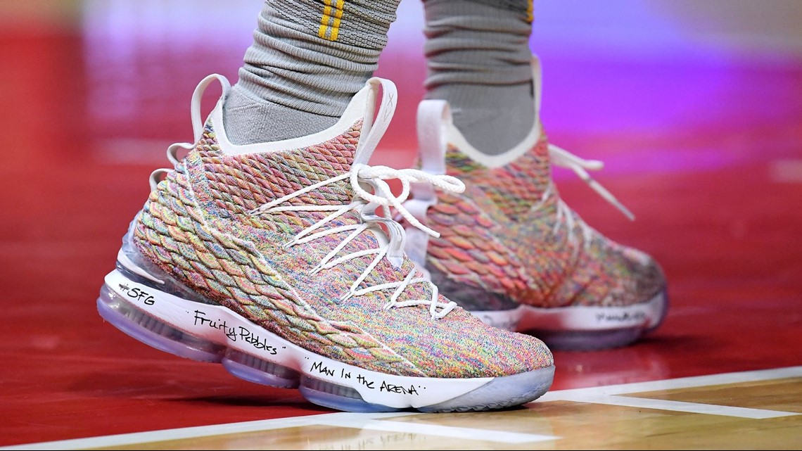 42ac6359de485 LeBron James has taken his shoe game to another level this season ...