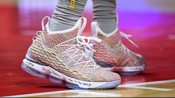online retailer 69a38 ebba8 LeBron James has taken his shoe game to another level this ...