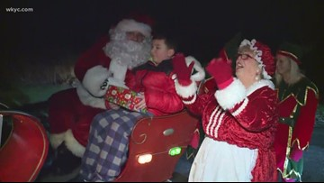 Santa arrives in Portage Lakes to spread holiday cheer