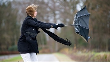 Weekend High Wind Watch: Gusts could reach 60 mph