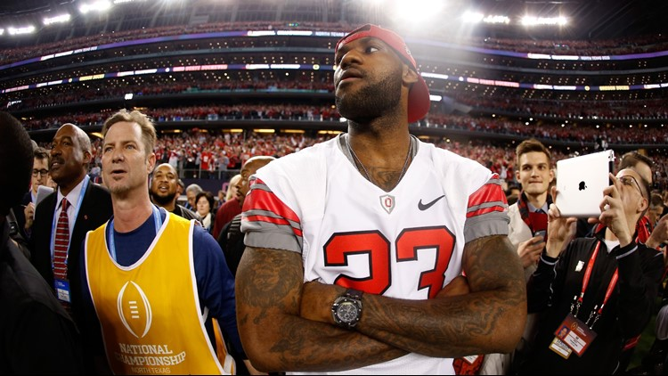Ohio State fan LeBron James happy 'that other team' didn't win the