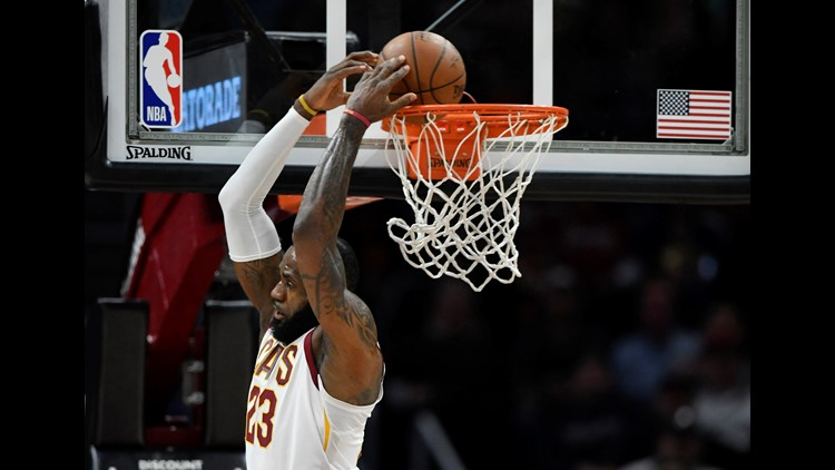 Cleveland Cavaliers earn 112-106 victory over East-leading Toronto Raptors  at The Q a76114548