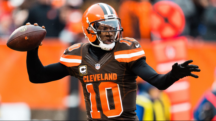 Robert Griffin III signs with Ravens to be backup QB