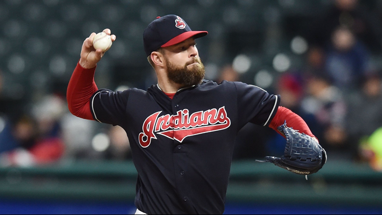 Cleveland Indians starting pitcher Corey Kluber to miss the 2018 All-Star Game after taking an injection in his right knee Friday morning.