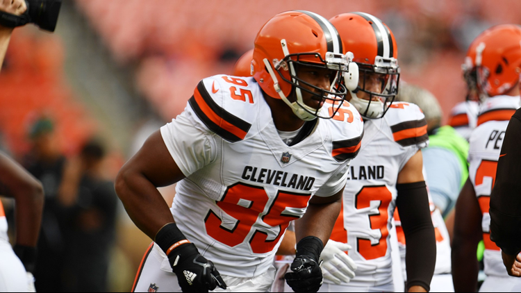 Cleveland Browns Myles Garrett And Denzel Ward Selected: Myles Garrett One Of Five Captains Selected By Cleveland