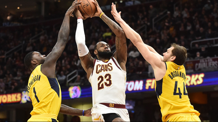 20e489b349c Cleveland Cavaliers to face Indiana Pacers in first round of NBA playoffs   Schedule