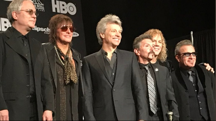 Get an inside look at what's happening behind the scenes at the Rock & Roll Hall of Fame induction ceremony.