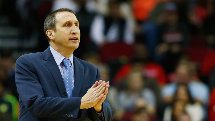 Blatt coached the Cavs from 2014-early 16.