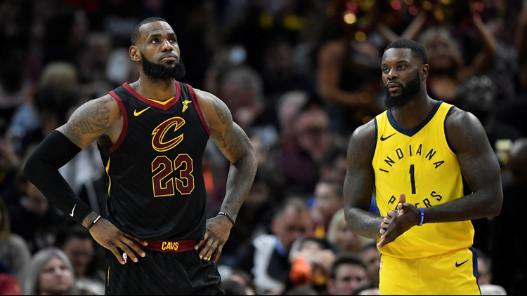LeBron James scored 24 points, dished out 12 assists, and grabbed 10 rebounds, but it was not enough to overcome the Pacers on Sunday.