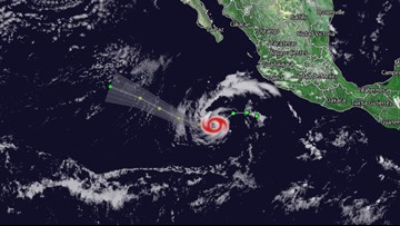 Tropical Storm Alvin forms in Eastern Pacific