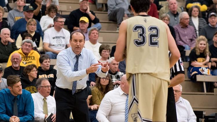 Wooster coach Steve Moore