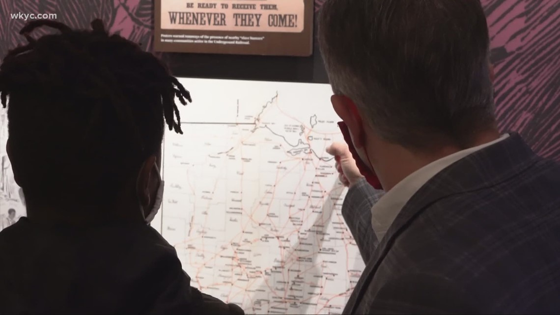 Local students get first look at museum detailing underground railroad