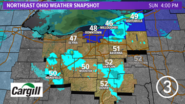 Winter storm watch issued for several Northeast Ohio Counties starting Monday