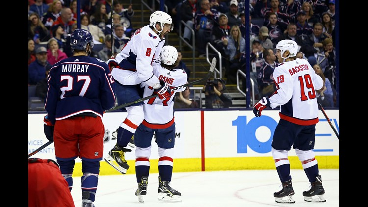 95c03556e95 Washington Capitals even up first-round series with Game 4 win over  Columbus Blue Jackets