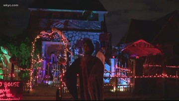 Halloween horrors unleashed at Parma home: Welcome to 'The Douglas Manor'