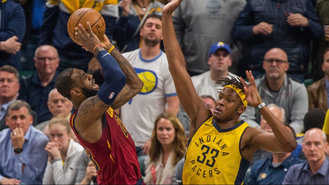 42d664010b1f Cleveland Cavaliers beat Indiana Pacers 104-100 in Game 4