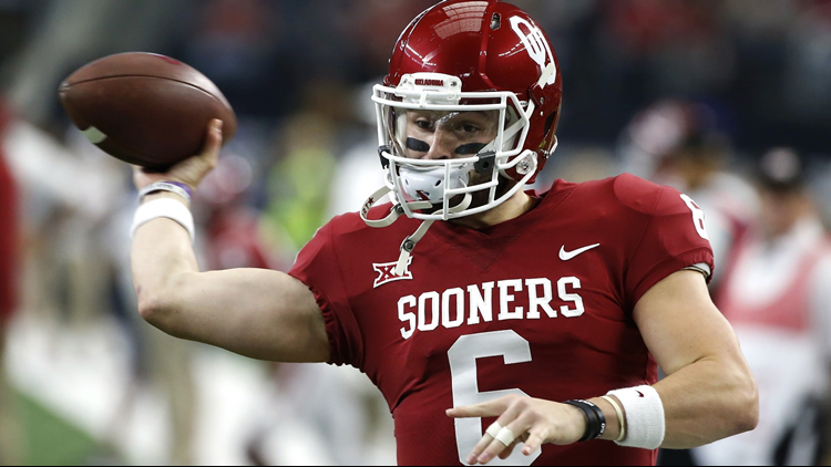 Browns make Oklahoma's Mayfield top pick in National Football League draft