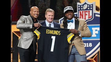 Watch: Former OSU LB Ryan Shazier takes stage to announce