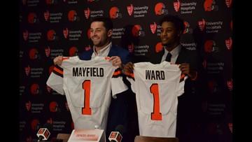 Baker Mayfield, Denzel Ward progress up the Cleveland Browns' depth chart