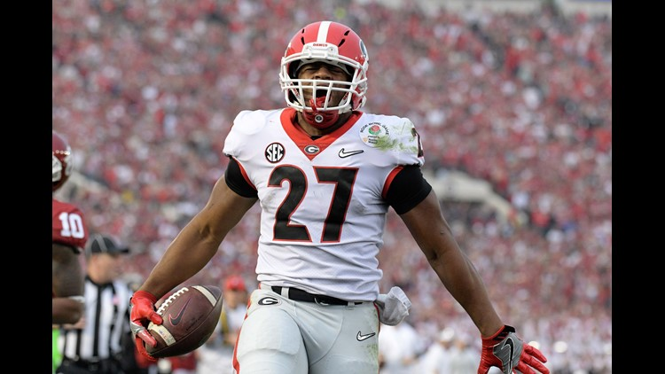 Browns start round two RB run with Nick Chubb