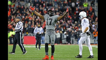 Cleveland native Jerome Baker selected by Miami Dolphins in third round of 2018 NFL Draft