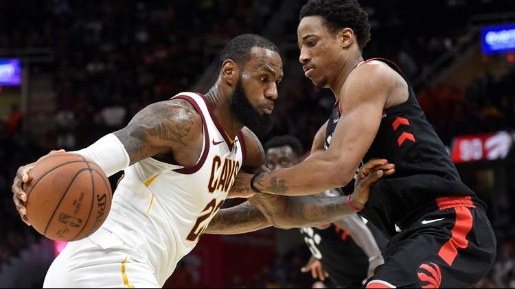 1198c2a5c88 RECAP: Cleveland Cavaliers earn 113-112 OT win over Toronto Raptors in Game  1 of East Semis
