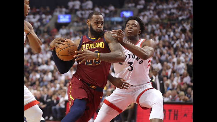 LeBron James says Cavs 'still got some work to do' vs. Raptors