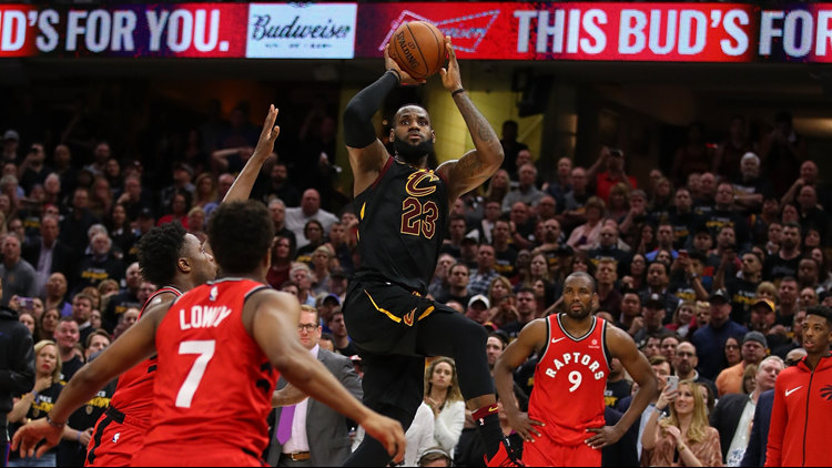 Lebron James On Game Winning Shot Vs Toronto Raptors I Live For Those Moments Wkyc Com