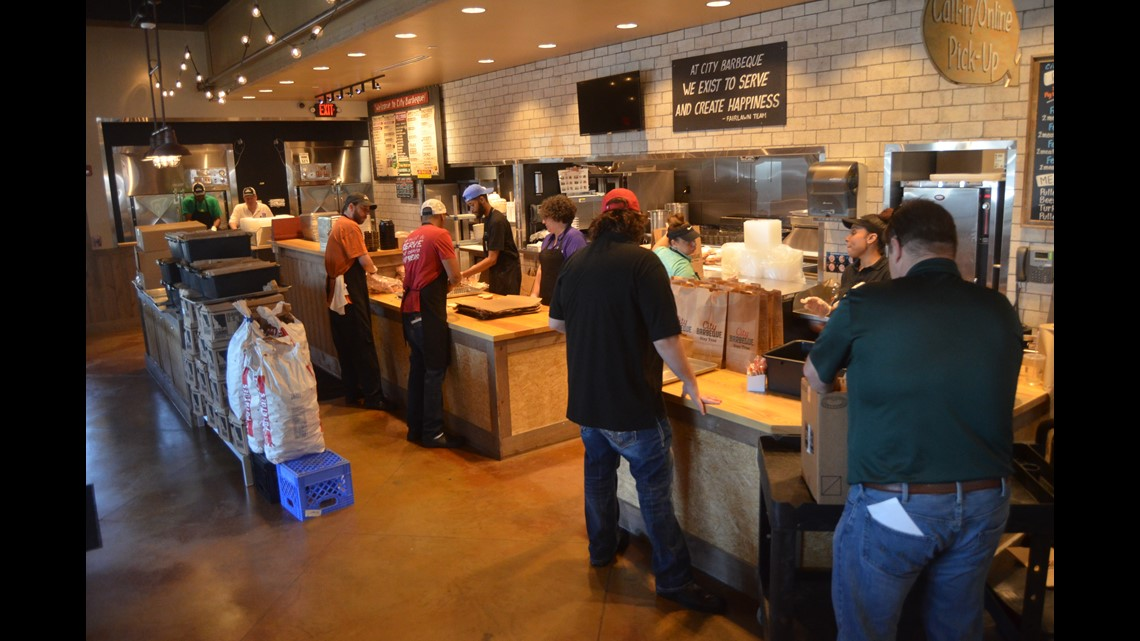 First Look Inside City Barbeques New Fairlawn Restaurant Wkyccom