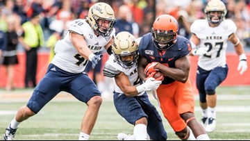 Illinois crushes Akron 42-3 in Tom Arth's debut