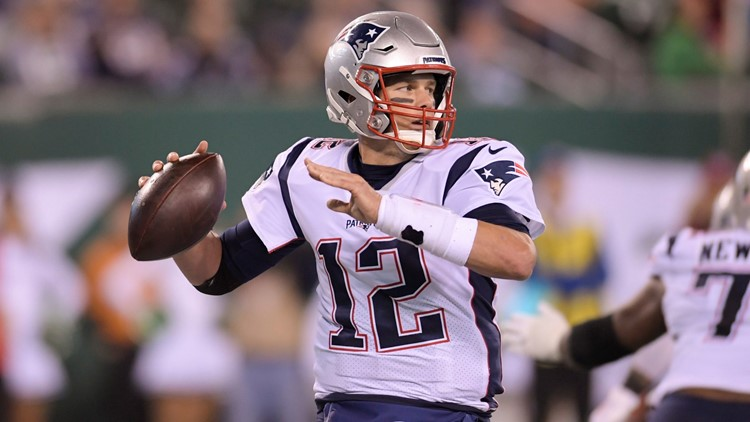 Tom Brady New England Patriots-New York Jets Football